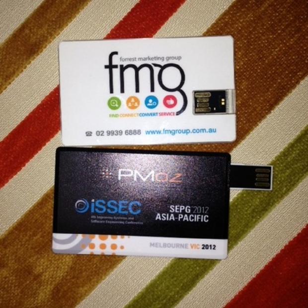 Credit Card Memory Sticks
